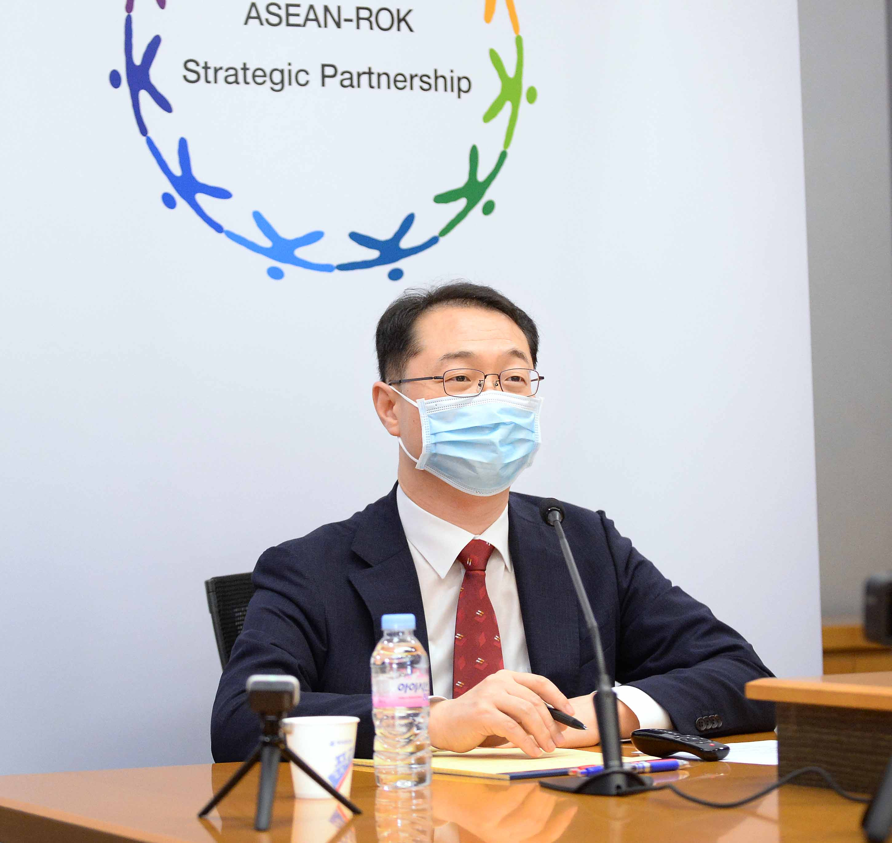 ROK and 10 ASEAN Countries Hold ASEAN-ROK Dialogue in Virtual Format
