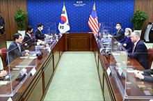 비건 미 국무부 부장관 겸<br>대북특별대표 방한