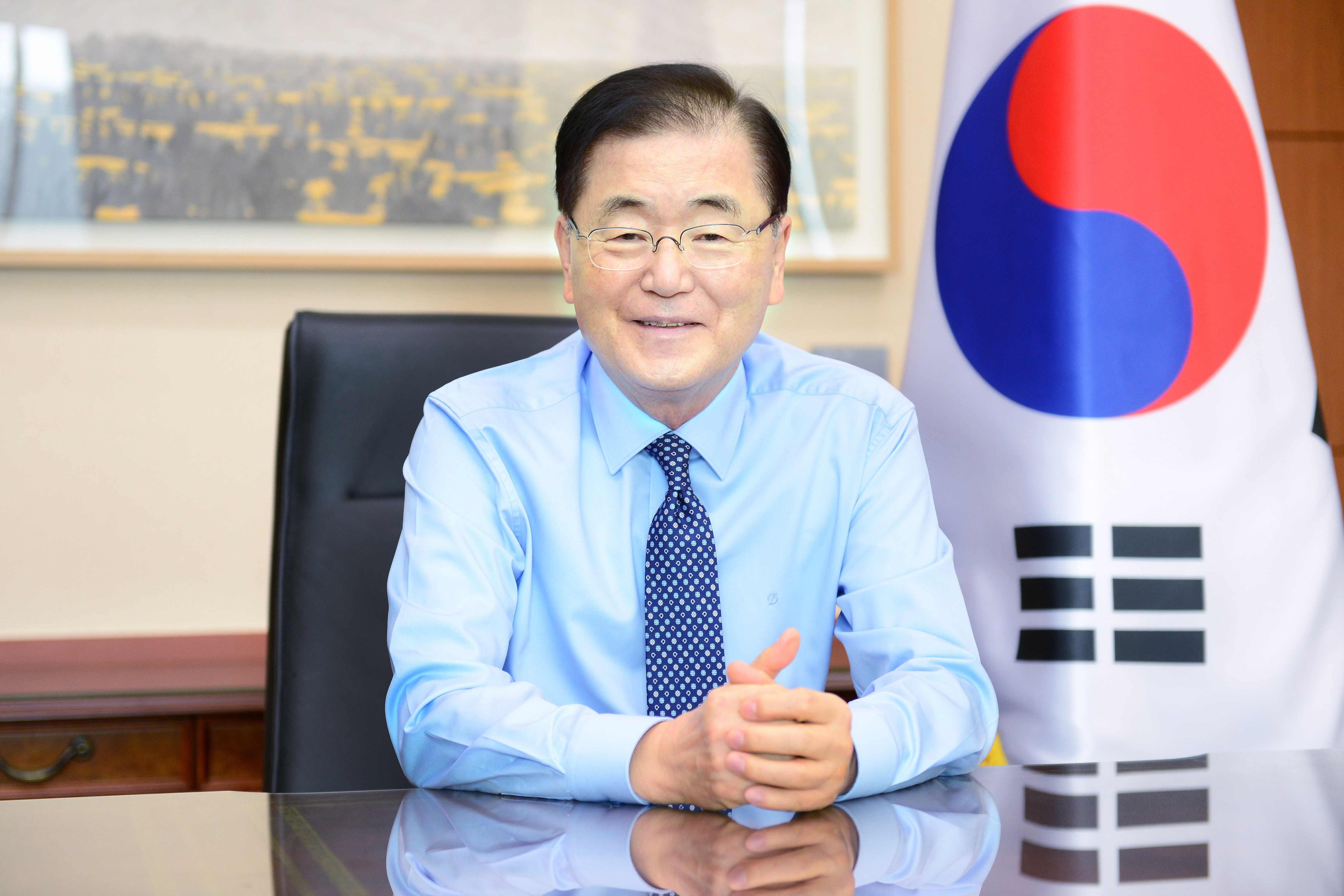 Conversation between Korean and UAE Ministers of Foreign Affairs