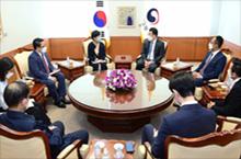 최종건 1차관, 재한 미얀마인<br>유학생 초청 간담회 개최