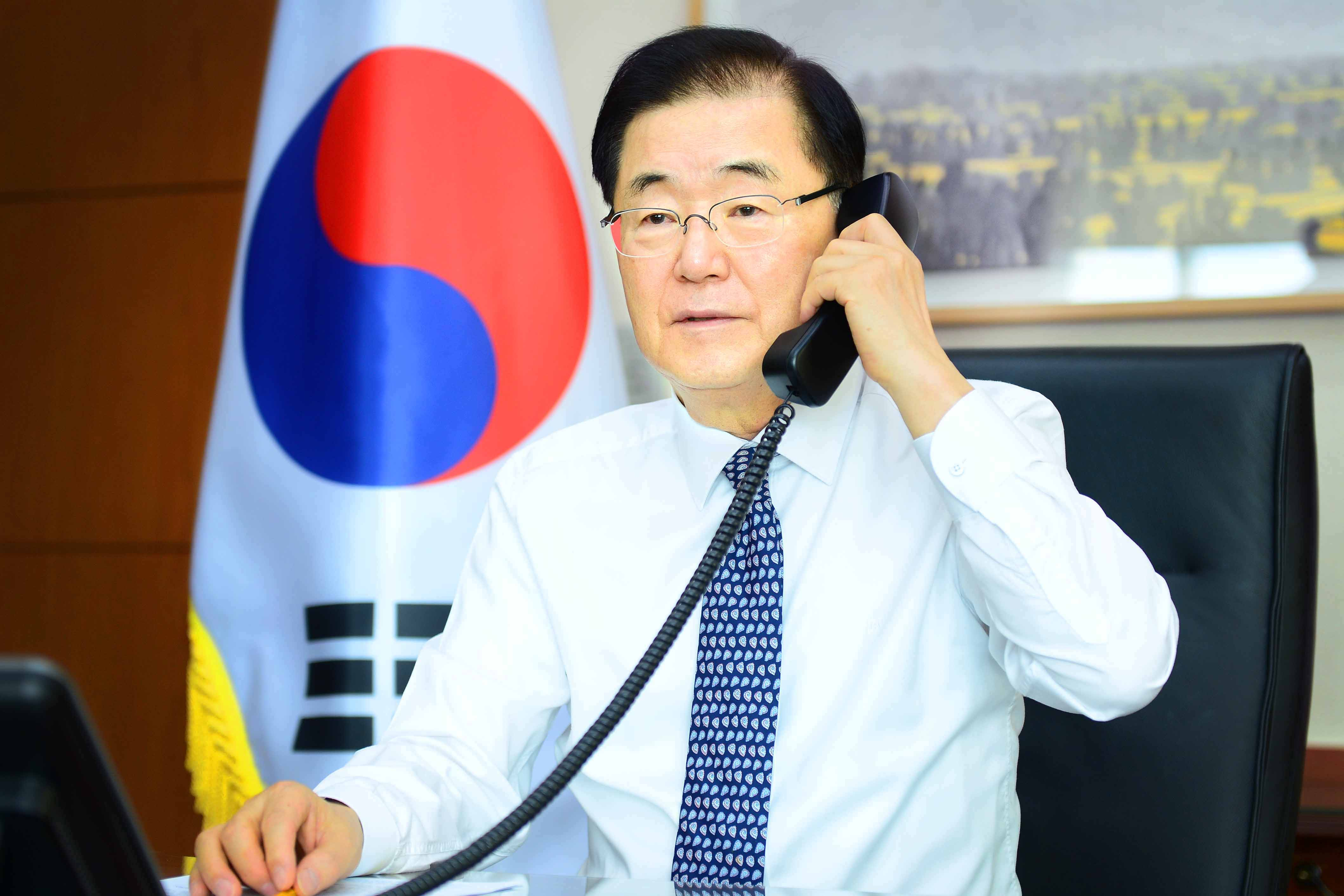 Telephone Conversation between Foreign Ministers of Korea and Sweden