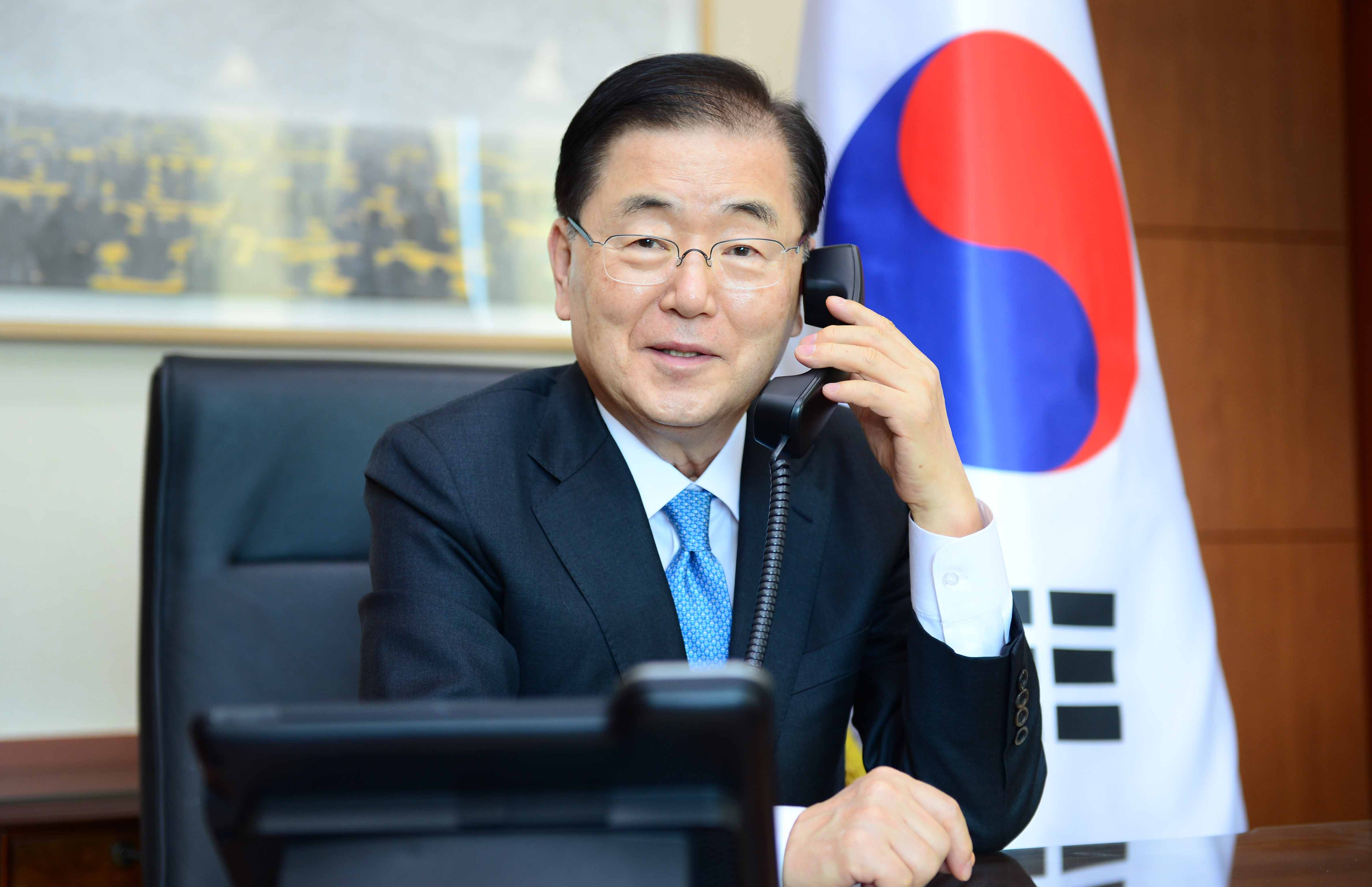 Telephone Conversation between Foreign Ministers of Korea and Thailand