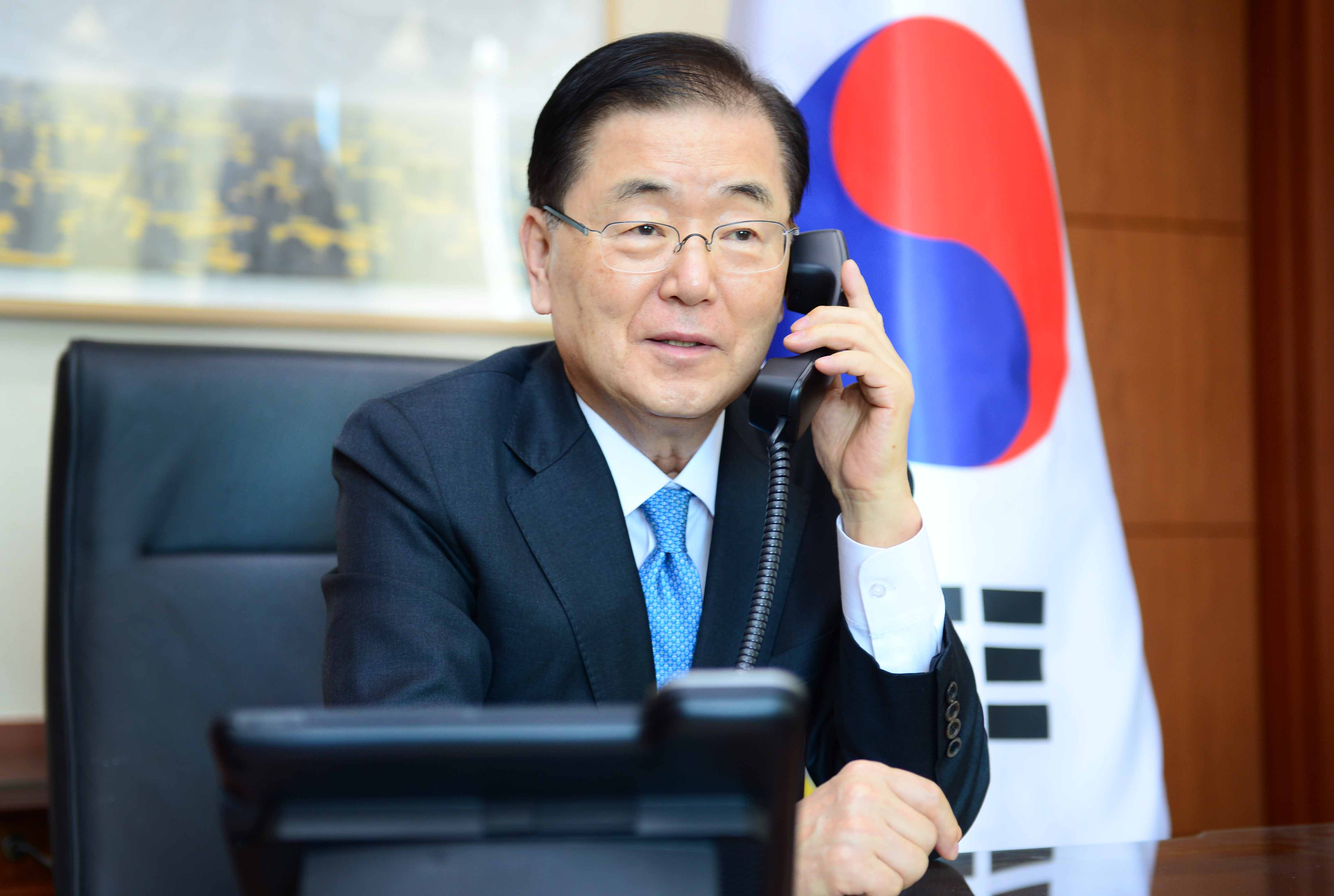 Telephone Conversation between Foreign Ministers of Korea and the Philippines