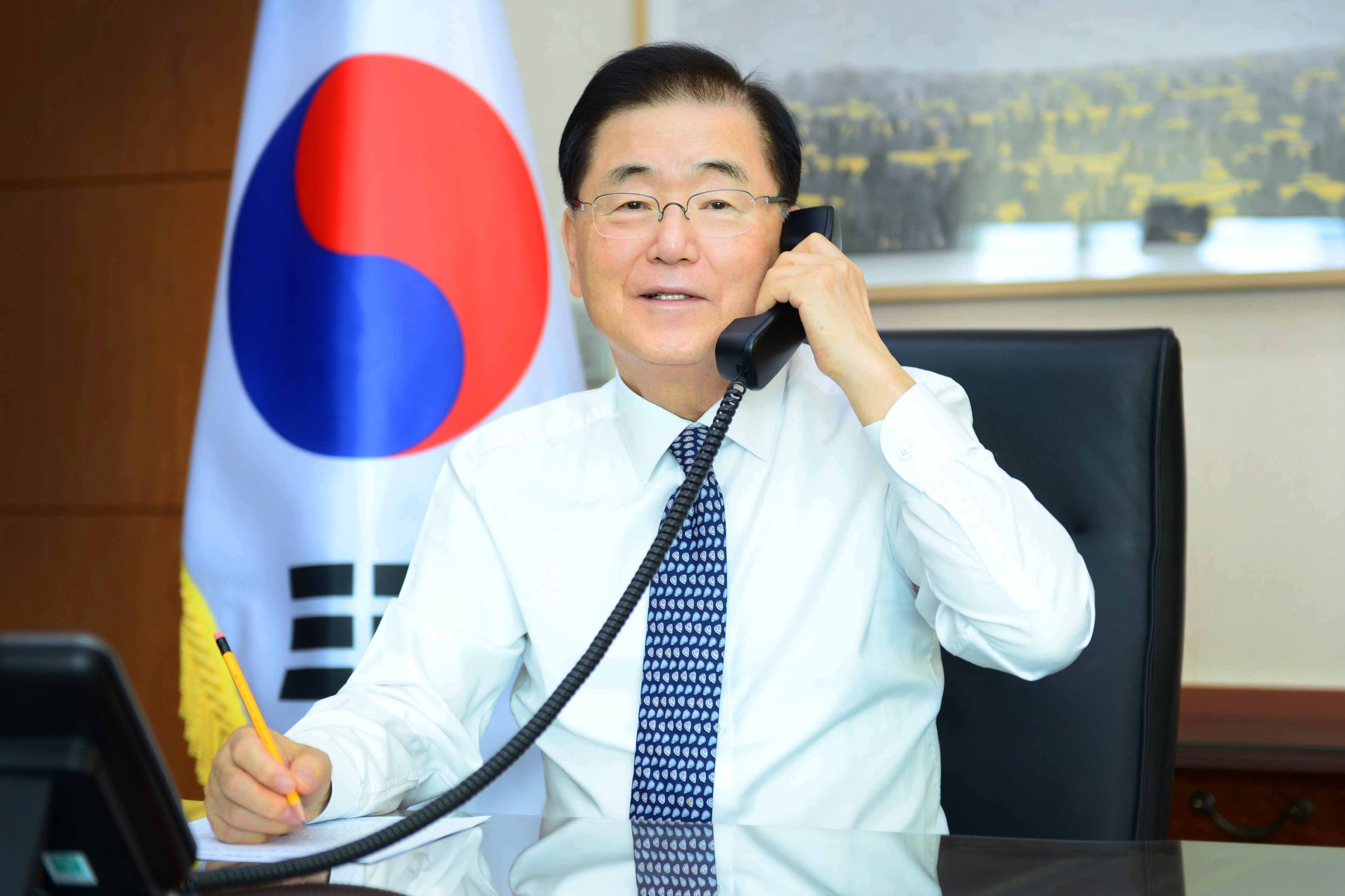 Telephone Conversation between Foreign Ministers of Korea and Kazakhstan