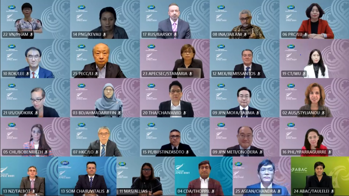 Deputy Minister for Economic Affairs Attended APEC Senior Officials' Meeting