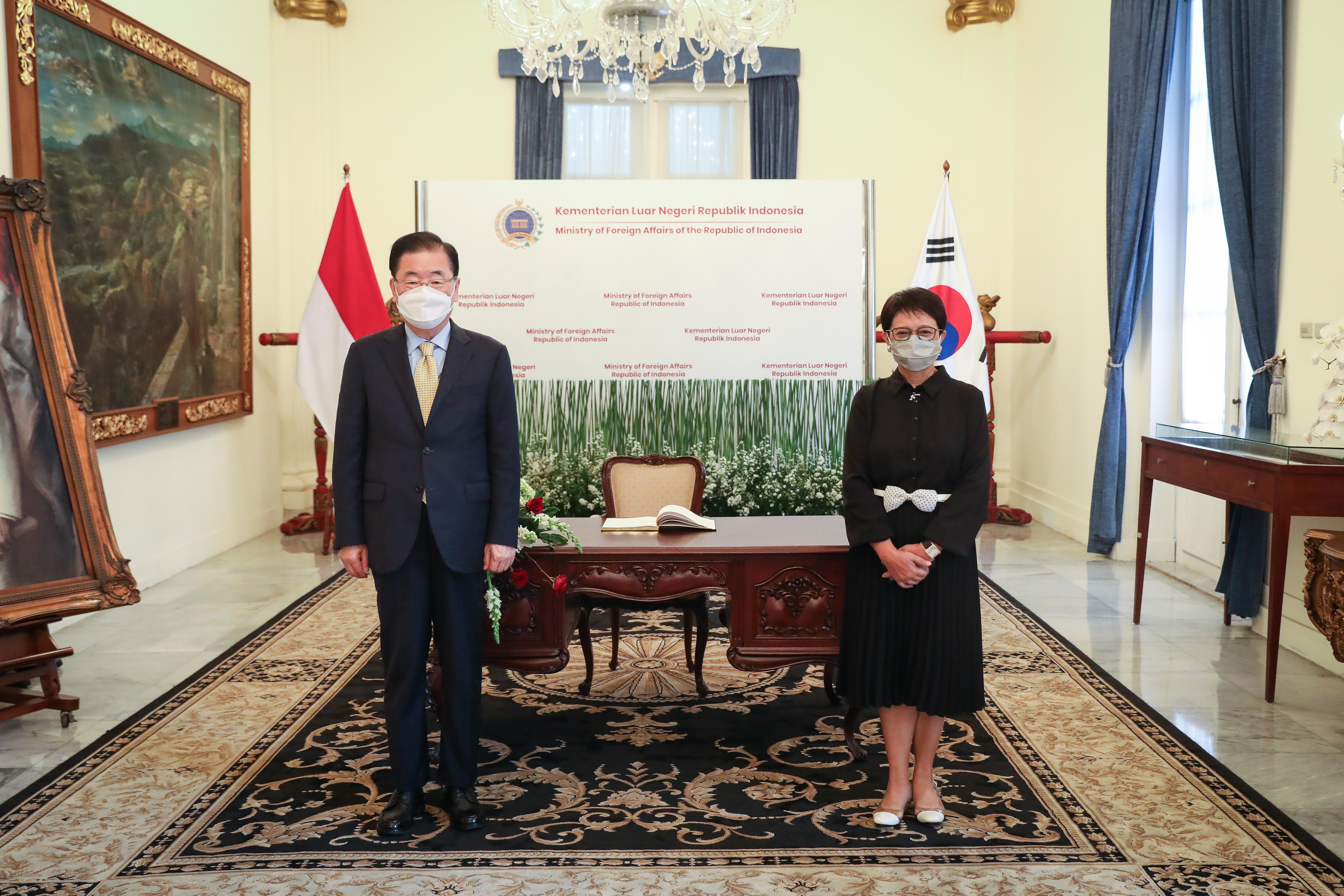Korea-Indonesia Foreign Ministers' Meeting