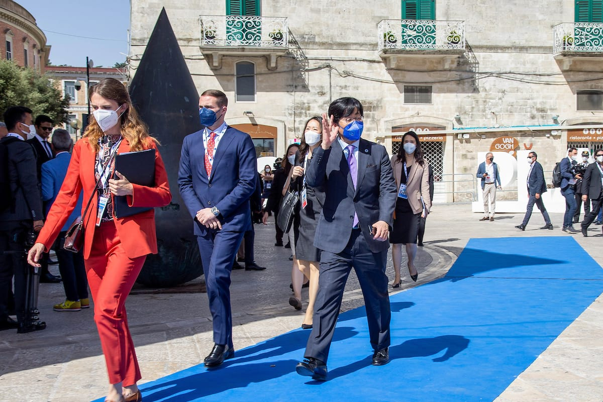 Vice Minister of Foreign Affairs Choi Jongmoon Attends G20 Foreign Affairs and Development Ministers Meeting