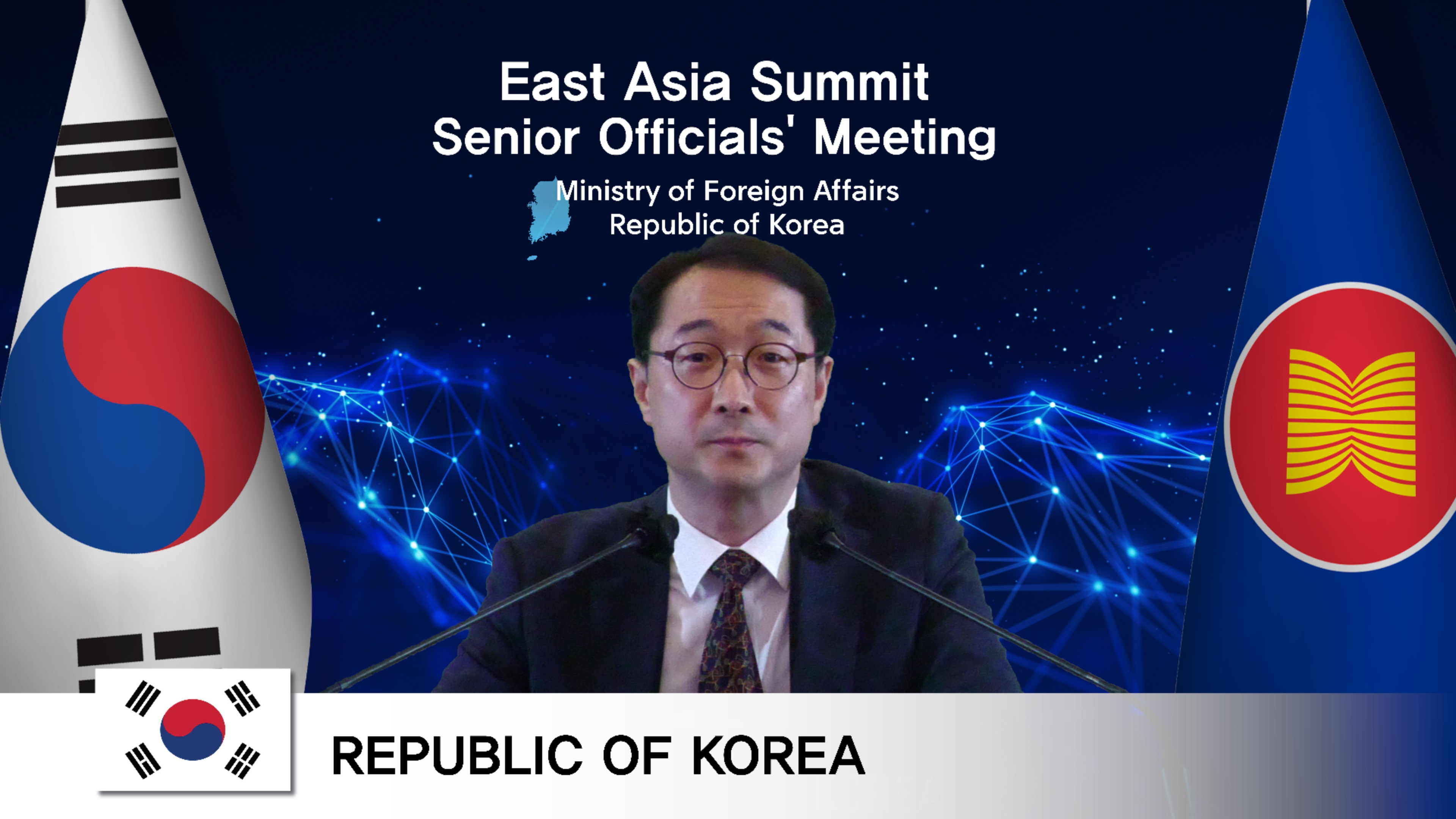 East Asia Summit (EAS) Senior Officials' Meeting (SOM) Discusses Current Regional Issues, and Ways to Enhance Peace and Prosperity