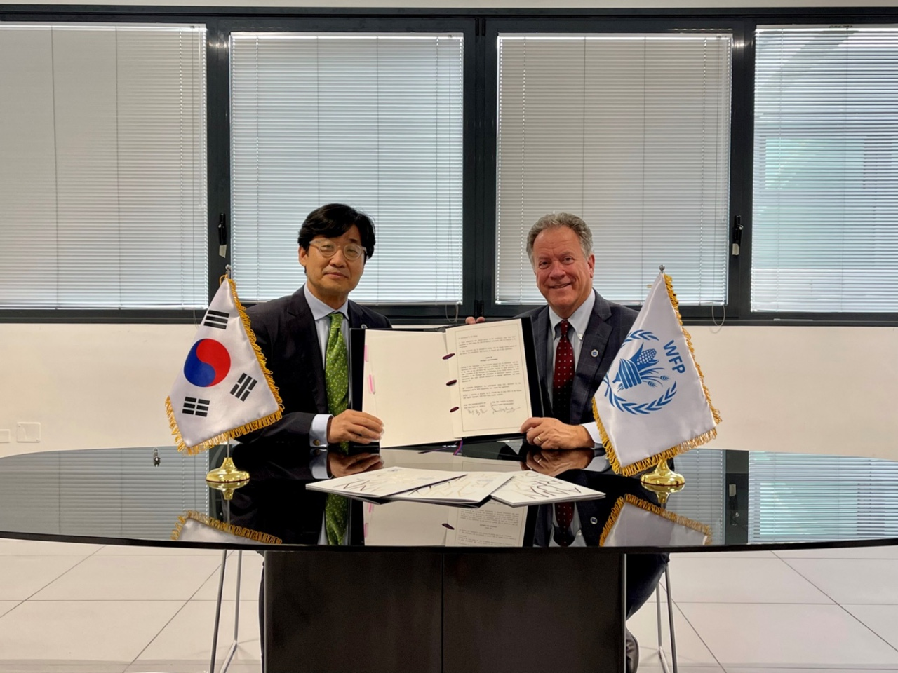 Korean Government Signs Renewed Partnership Framework Agreement with United Nations World Food Programme