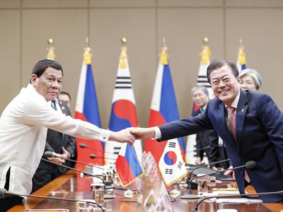 Leaders of Korea and the Philippines Expand Exchanges, Work for Denuclearization