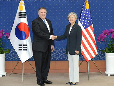 Outcome of Foreign Minister's Meeting with her US Counterpart