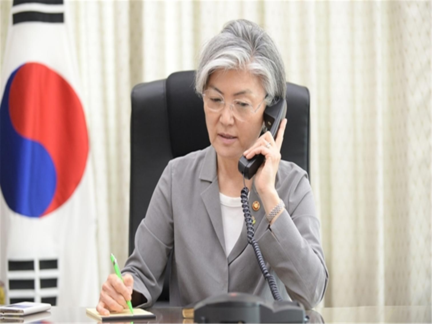 Outcome of Telephone Conversation between Foreign Minister and her Japanese Counterpart