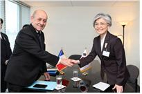 ROK-France Foreign Ministerial Meeting Held on Occasion of 2019 UN Peacekeeping Ministerial