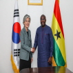 Outcome of Courtesy Call on Vice President of Ghana by Minister of Foreign Affairs