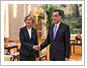 강경화 장관, 중국 리커창 총리 예방