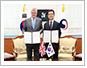 한국-영국간 협력 강화 공동성명 채택