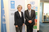 Minister of Foreign Affairs Meets with Administrator of UN Development Programme