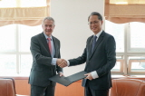 Deputy Minister for Multilateral and Global Affairs Meets and Signs MOU with ICC Registrar