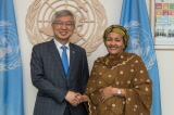 Vice Minister Lee Meets with UN Senior Officials Including Deputy Secretary-General