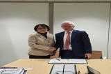MOU Concluded to Contribute to Eradication of AIDS, Tuberculosis and Malaria from around World