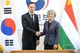 ROK-Hungary Foreign Ministers' Meeting Takes Place