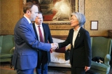 Minister of Foreign Affairs Meets with UK Secretary of State for Health and Social Care