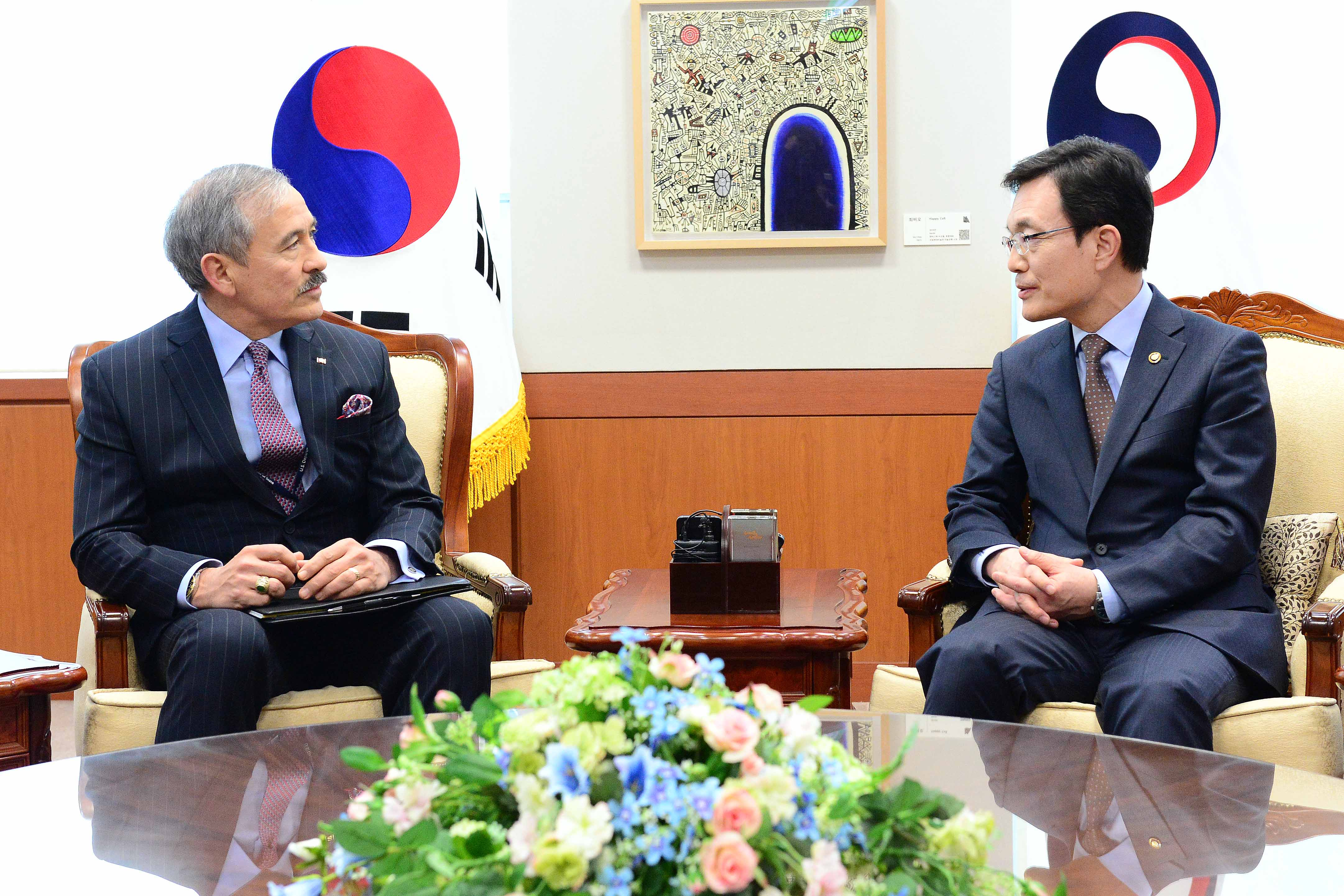 Meeting between Vice Minister of Foreign Affairs Cho and U.S. Ambassador to ROK