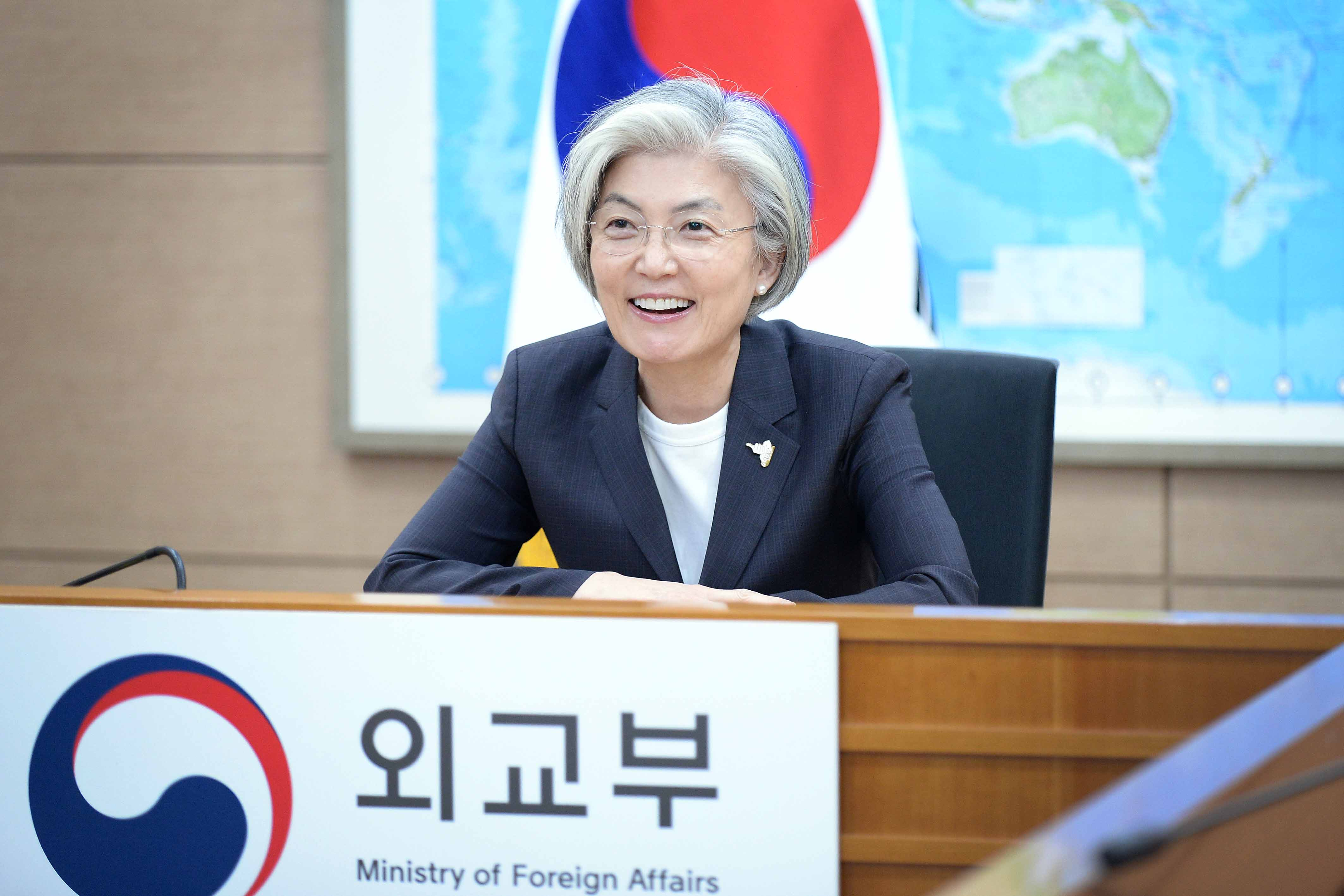 Video Conference between Foreign Ministers of ROK and India
