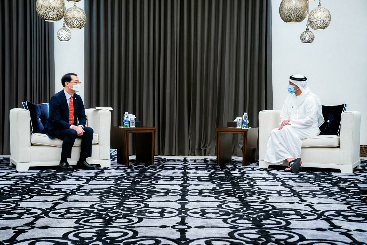 Deputy Minister for Political Affairs Discusses Ways to Strengthen Cooperation between ROK and UAE