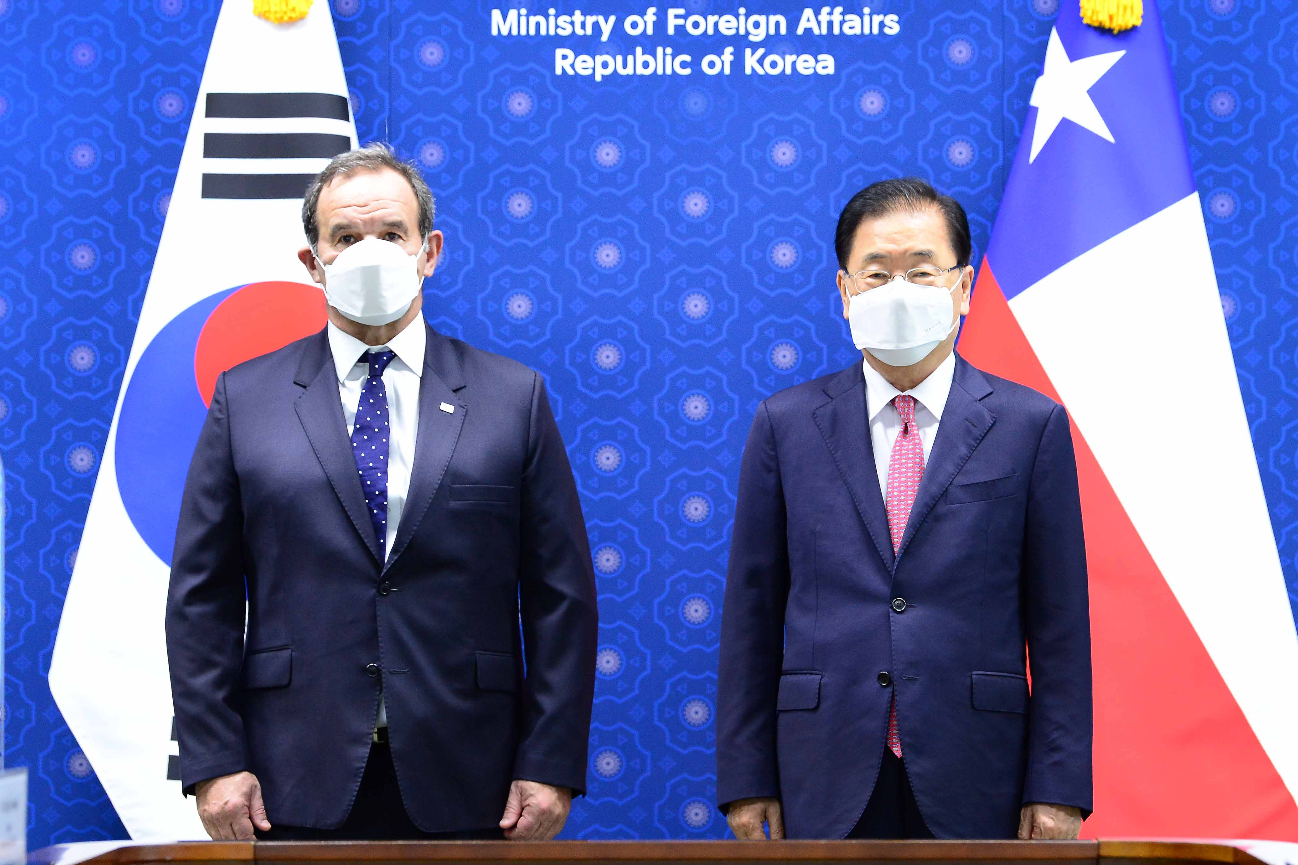Korea-Chile Foreign Ministers' Meeting