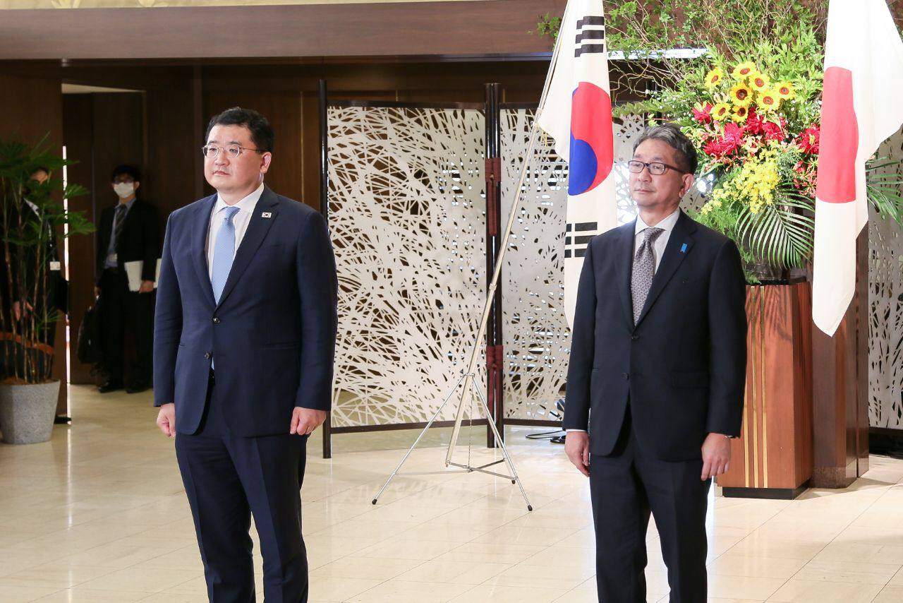 Korea-Japan Vice Foreign Ministers' Meeting on July 20