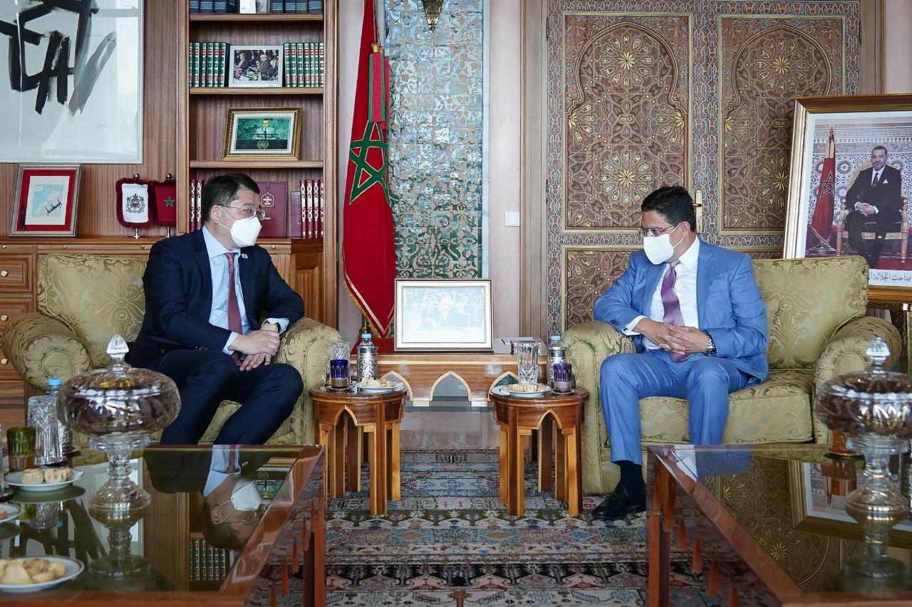 Vice Minister Choi Jong Kun Visits Morocco