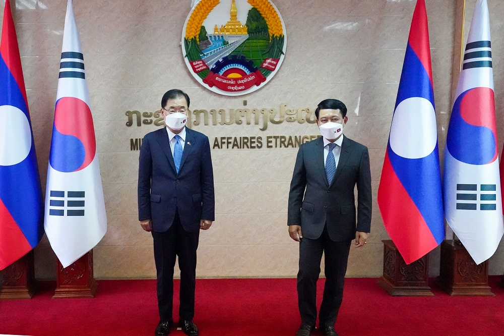 Korea-Lao PDR Foreign Ministers' Meeting and Dinner